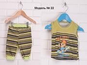 Детский костюм,  Майка,  Бриджи,  Модель 022. Forever