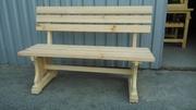Лавки,  скамейки деревянные уличные