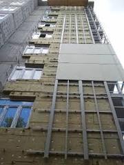 Фасадные работы из профлиста и фасадных кассет