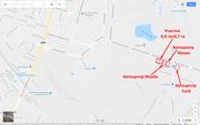Участок производственного назначения ул. Винокурова,  район авторынка