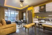 Шикарные квартиры планировки 1+1 в жилом комплексе  в г. Алания Турция