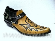 Песочные казаки Etor туфли на кожподошве