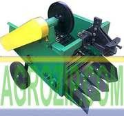 Картофелекопалка для мотоблока транспортерная КМТ-1