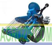 Картофелекопалка для мотоблока транспортерная КК-10