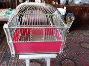 Продам клетку для птичек