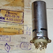 Продам ламповую панель:  ПЛК-9Э-70