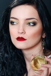Школа макияжа Днепр,  макияж для себя,  визажист Анастасия Лихачева