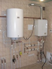 Установка,  чистка,  ремонт водонагревателей.