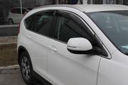 Ветровики / Дефлекторы окон с  хром полоской на Honda CR-V 2012-2017