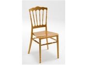 Банкетный стул Наполеон,  цвет золотой,  с мягкой подушкой