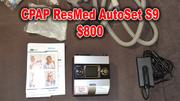 Продам ResMed AutoSet S9 для лечения обструктивного апноэ во сне.