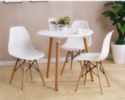 Стол обеденный Нолас,  столешница дерево,  цвет белый