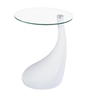 Журнальный столик ПЕРЛА,  белый