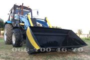 Быстросъёмный погрузчик Кун M-Technic1.6 на трактор МТЗ,  ЮМЗ,  Т-40