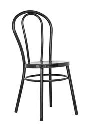 Стул Тонет,  в стиле лофт,  черный,  металл