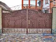 Кованные навесы,  сварные навесы,  козырьки для дома Кривой Рог