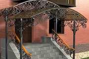 Металлические и кованые ворота. Навесы,  решетки,  заборы,  двери