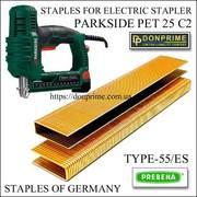 Скоба для электростеплера (степлера) Тип 55 / 6 мм PARKSIDE купить