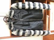 """Продам куртку из меха пони , с вставками на руковах из меха  """"шиншилки..."""