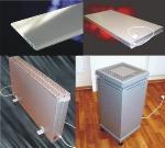 Отопление помещений экономными обогревателями