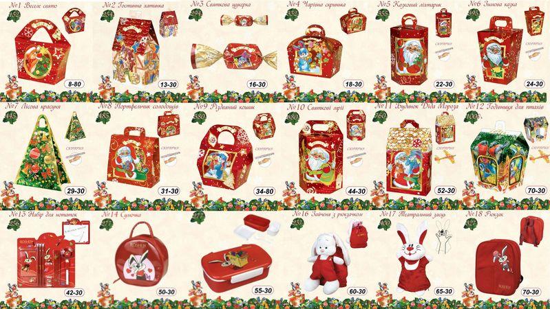 Новогодние подарки цены каталог 91